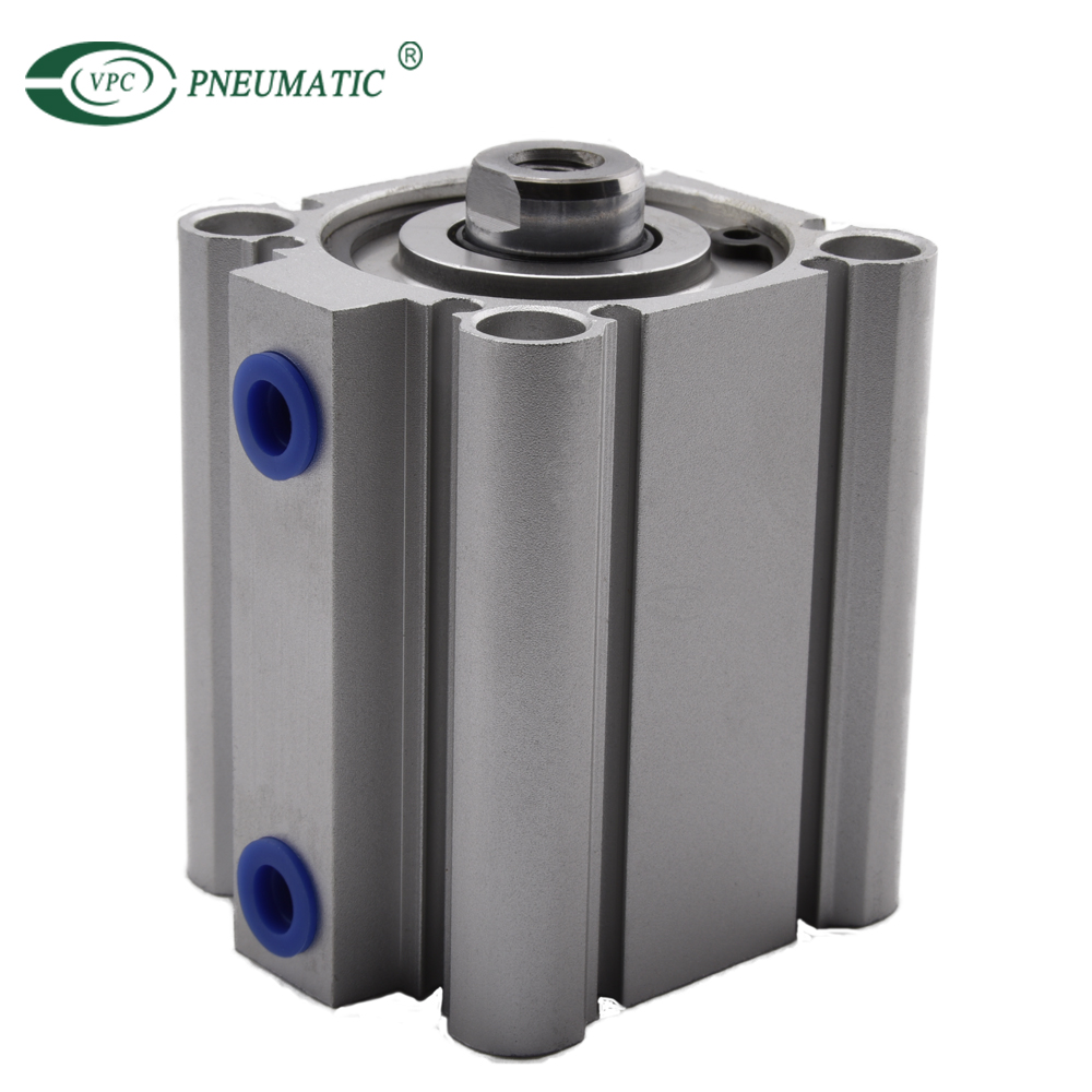 CQ Series 40mm Bore 10mm Stroke CQ2B40-10S Compact Pneumatic Air Cylinder With Magnet