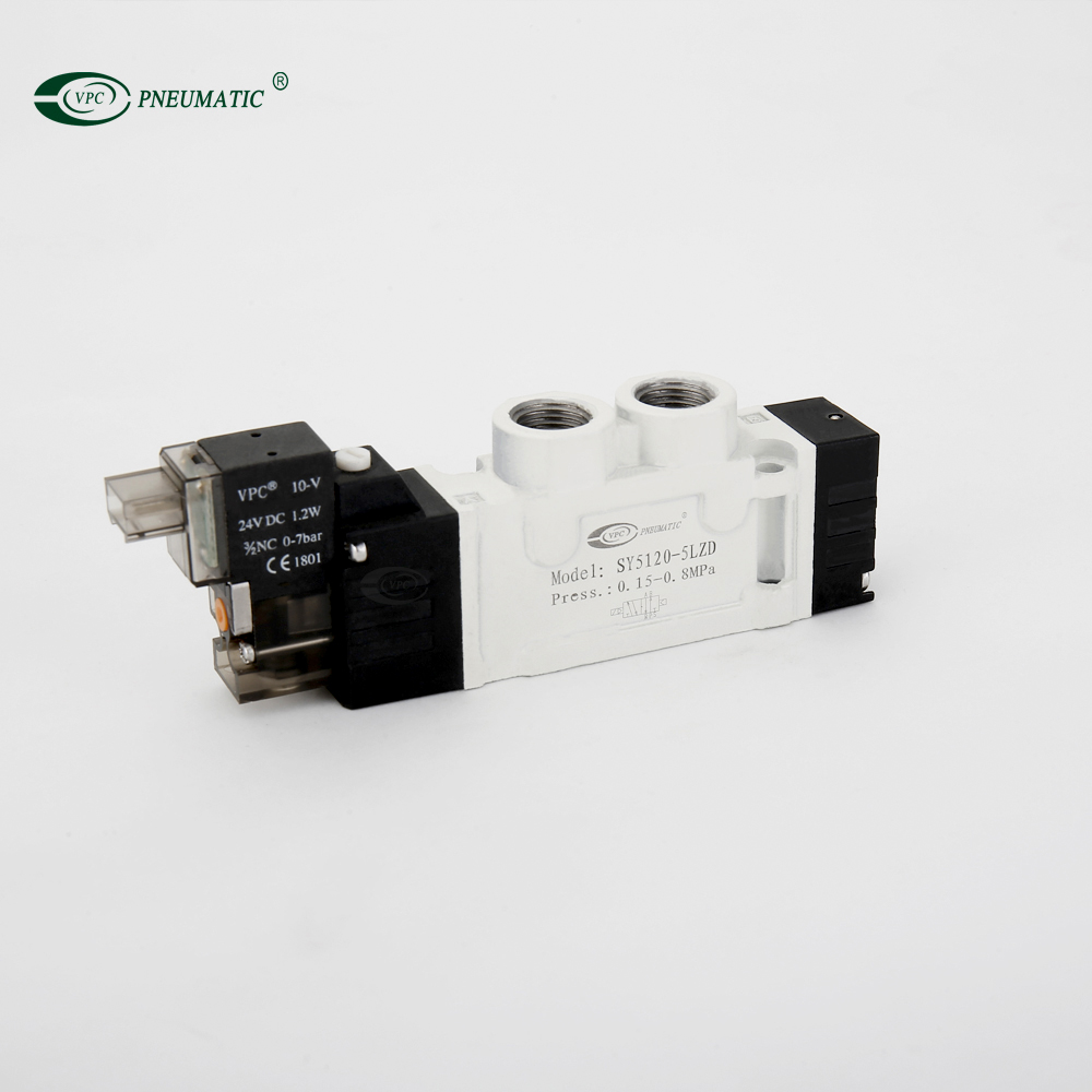 SY Series Single Control Pneumatic Valve