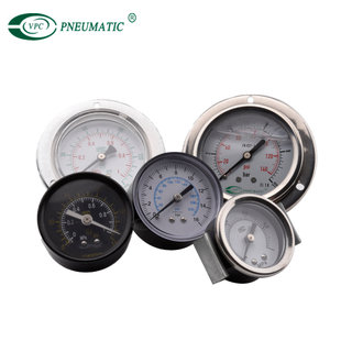 Accurate Durable Stainless Steel Air Pressure Gauge For FRL