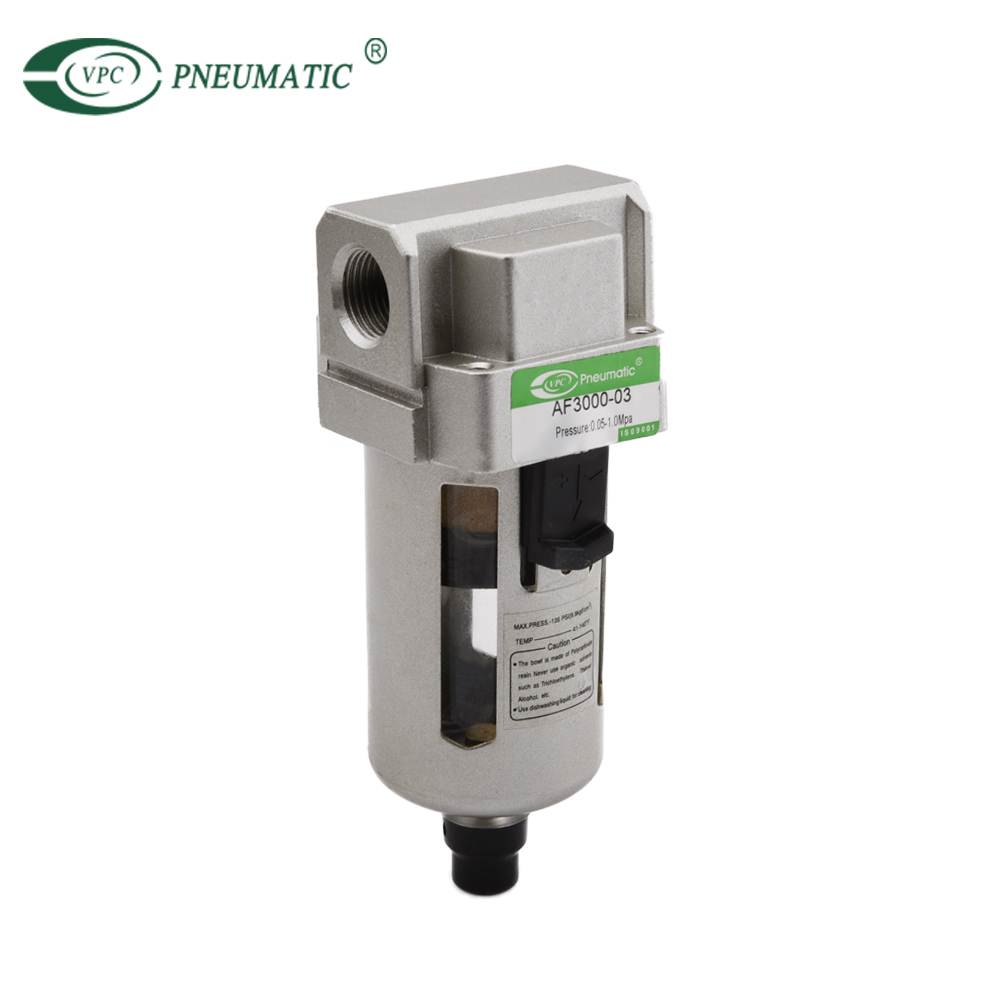 AF Pneumatic air filter Auto Drain FRL Units